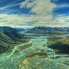 Bleeding Earth Landscape by Paul Duckett