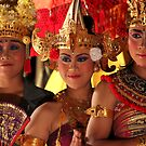 Indonesia 5 - Balinese Legon Dancers  by Normf