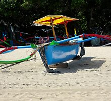 Indonesia 6 - Fishing boat Legian Beach Bali by Normf