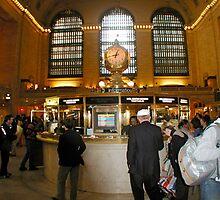 Grand Central Station - Information by Jack McCabe