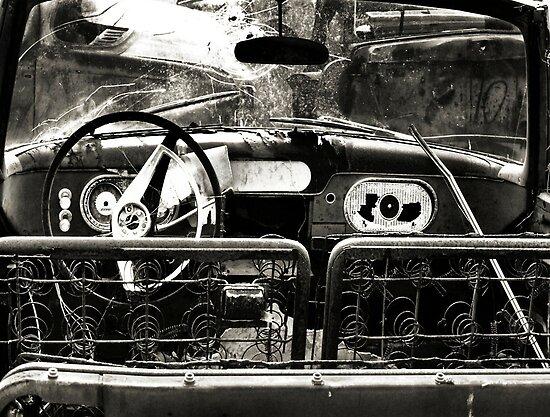 Back Seat Driver ~2  ( BoneYard Series ) by Carla Jensen