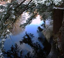 Baker River, NH  early winter morning by kimmiesage