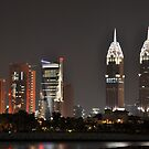 Dubai at Night I by Joseph Najm