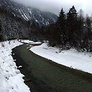 River Isar at Leutasch by Daidalos