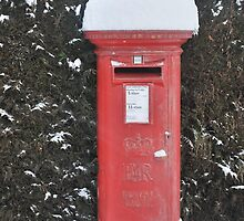 Christmas post box by relayer51