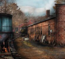 Train - The Train Yard by Mike  Savad