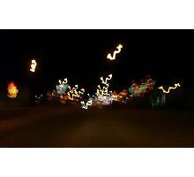 Ghosts of Christmas Past...Main Street,Nipawin Sask, Photographic Print
