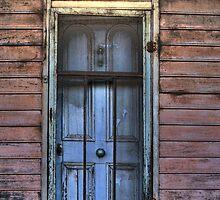 Ye Olde Blue Door by Dianne English