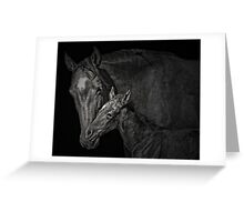 Nuzzle Greeting Card