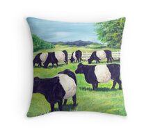 Oreo Cookie Cows! Throw Pillow