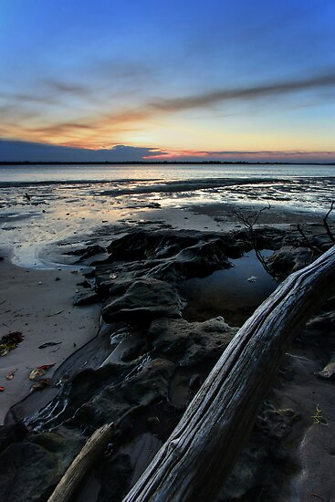 Bribie Island Sunset by Jason Asher