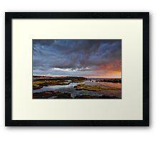 Glimmer of sunlight Framed Print