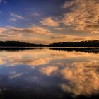 Through The Looking Glass - Narrabeen Lakes, Sydney - The HDR Experience by Philip Johnson