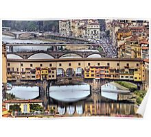 Ponte Vecchio - Florence Poster