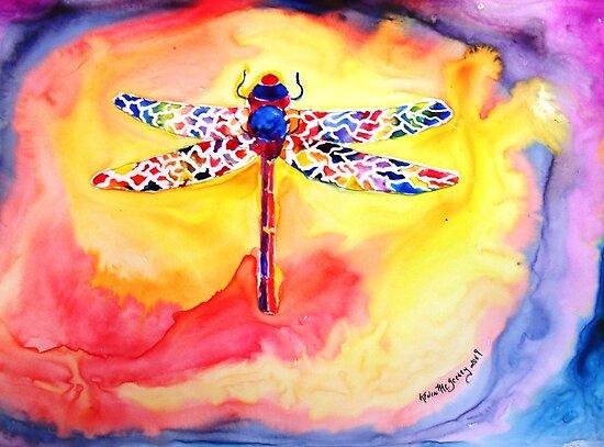 Dragonfly Debra....... by Kevin McGeeney