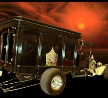 """1913 Ford """"The Hearse"""" Dragster  by TeeMack"""
