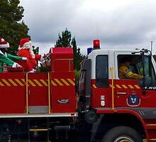 Santa's Aussie Sleigh by Shane Viper