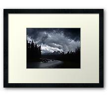 Kootenay Crossing(2) Framed Print