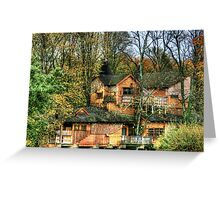 """""""Tree House at Alnwick Castle Grardens"""" Greeting Card"""
