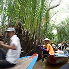Canal on Mekong Delta - Vietnam by biancamarks