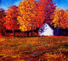 White House in the Maples by sesillie