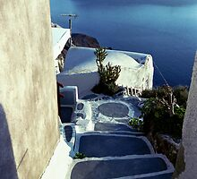 Santorini Steps by groophics
