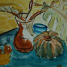 Still Life with Pumpkin by Alison Howson