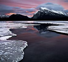 Mt Rundle - Banff National Park by LukeAustin