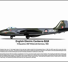 English Electric Canberra B(I)8 Profile by coldwarwarrior