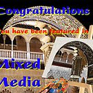 Mixed Media Feature Banner by David's Photoshop