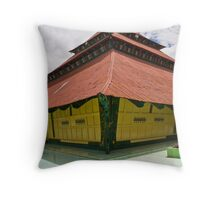 Ancient Mosque - Sungaipenuh, Sumatra, Indonesia Throw Pillow