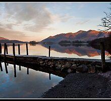 Skiddaw at sunrise by Shaun Whiteman