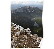 Frenchmans Cap Summit View, Franklin-Gordon Wild Rivers National Park, Tasmania, Australia Poster