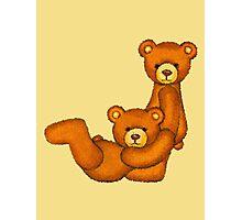 Teddy Bear Alphabet ~ Letter J ~ Initial Photographic Print
