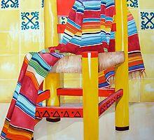 Silla de la Cocina/Kitchen Chair by kandyce