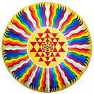Iesha Yantra Mandala by SheosArtShop