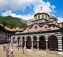 Rila Monastery by Nickolay Stanev