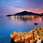 Budva by Night by Anton Gorlin