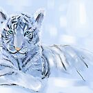 Year of white tiger. by Svetlana Mikhalevich
