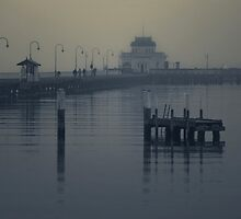 St Kilda Pier, Melbourne  by Christine  Wilson Photography
