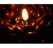 By The Fire Photographic Print
