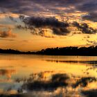 Let Us Reflect - Narrabeen Lakes, Sydney - The HDR Experience by Philip Johnson
