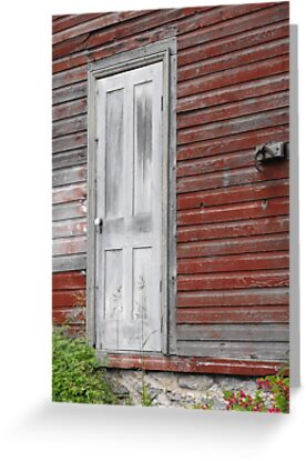 White Door by Tracy Faught