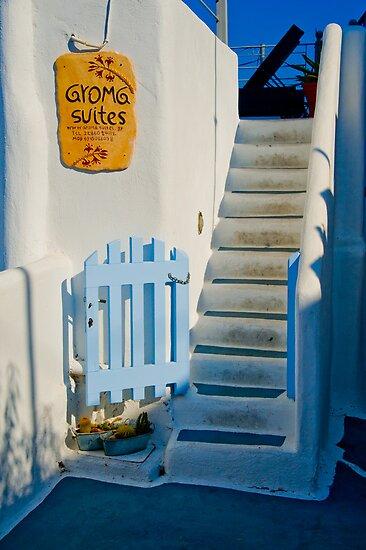 Santorini #4 by Jacinthe Brault