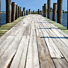 florida dock- going out by nolenphotograph