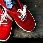 Red Tennis Shoes by sacredmoments