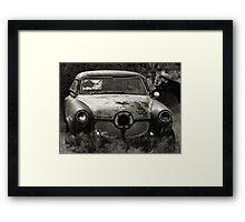 The Bullet Ride ~ 2  ( BoneYard Series ) Framed Print
