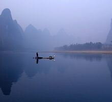 BLUE DAWN - LI RIVER by Michael Sheridan