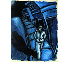 Blue walker no.1 Photographic Print