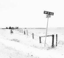 Street Corner in Alberta by Doug Keech